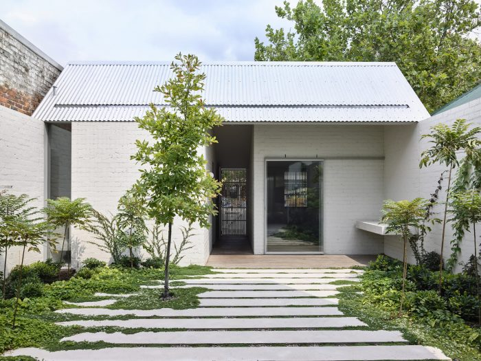 A renovated cottage home